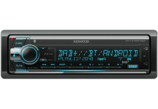 Autorradio - Kenwood KDC-X7200DAB, 4x50W, Bluetooth, USB, CD, Radio AM/FM, Aux, Pantalla LED, Negro