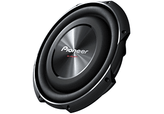 Subwoofer - Pioneer TS-SW3002S4, Para coche, 400W, Negro