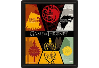 Póster 3D - Pyramid International Sigils, Game of Thrones