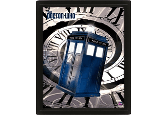 Póster 3D - Pyramid International, Tardis, Doctor Who