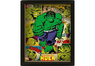 Póster 3D - Pyramid International, Hulk, Marvel
