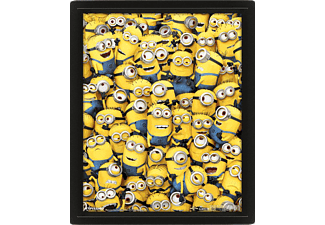 Póster 3D - Sherwood, Muchos Minions