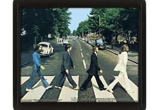 Póster 3D - Pyramid International, Abbey Road, The Beatles