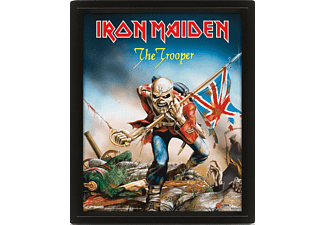 Póster 3D - Pyramid International, The Trooper, Iron Maiden