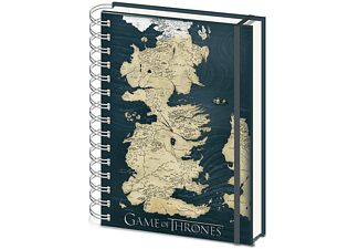 Libreta - Sherwood Game of Thrones Mapa, A5