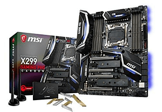 Placa base - MSI X299 GAMING PRO CARBON AC, Intel X299, LGA 2066, ATX