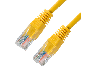 Cable de red - Nanocable 10.20.0402-Y, 2m, Cat6e U/UTP (UTP)