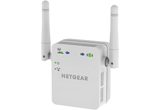 Netgear WN3000RP Network transmitter & receiver Color blanco