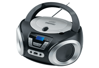 Radio CD - Daewoo DBU-050B, Puerto USB, Sintonizador digital, Reproductor MP3, Negro
