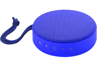 Altavoz inalámbrico - Vieta Round Up, Bluetooth, Radio FM, Azul