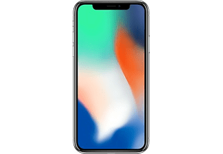 "Móvil - iPhone X, 256 GB, Super Retina de 5.8"", 12 MP, Red 4G LTE, Plata"
