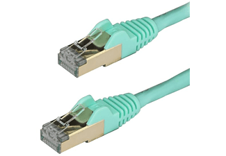 Cable de red - StarTech 6ASPAT3MAQ, RJ-45, Cat6a, 3m