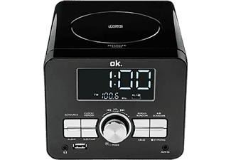 Radio CD - OK OCR 100, USB, MP3, AUX-IN, Reloj
