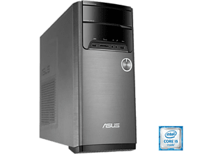 PC Sobremesa - Asus M32CD-SP015T, Intel® Core i5-6400, 8GB RAM, 1TB, Negro