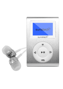 ddec925e6 ... Plata · Reproductor MP3 - Sunstech Dedalo III, 8GB, Radio FM, Plata