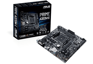 Placa base - PRIME, AMD A320, Socket AM4, Micro ATX