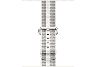 Correa para Apple Watch - White woven, nylon, 38mm