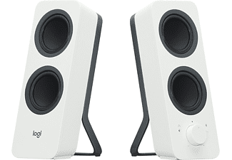 Altavoces Pc - Logitech Z207 con Bluetooth y 10W de potencia, color blanco