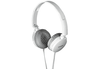 Auricular con cable - Thomson HED2205WH/GR, Diadema, Gris y blanco