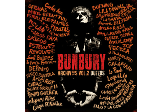 Archivos: Duetos - Volumen 2 - Bunbury - CD