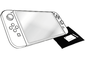 Protector de pantalla - Red Level CRISTAL TEMPLADO, transparente, para Nintendo Switch