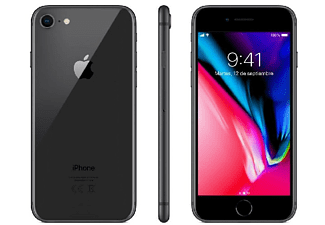 "Móvil - iPhone 8, 256GB, Red 4G LTE, Pantalla Retina HD de 4.7"", 12 Mpx, Gris espacial"