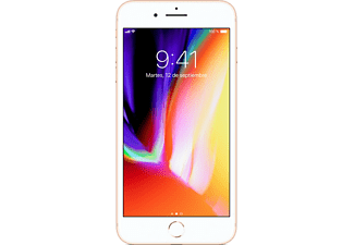 "Móvil - Apple iPhone 8 Plus, 5.5"" Full HD, Cámara 12MPx + 7MPx, 64 GB, Oro"