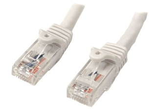 Cable de red - StarTech N6PATC7MWH, 7m, Cat6, U/UTP (UTP), Blanco