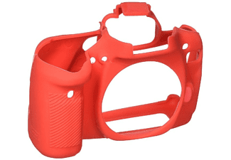 Funda - EASYCOVER 300037 FUND. SILICONA CANON 80D RED