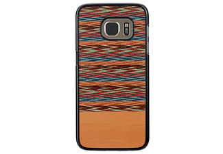Carcasa para Samsung Galaxy S7 - Man&Wood Browny Check, Estampada