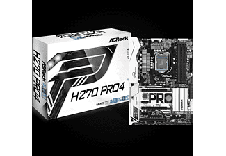 AS ROCK AS ROCK Asrock H270 Pro4 Intel H270 LGA 1151 (Socket H4) ATX placa base