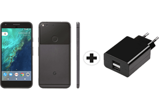 Google Pixel XL + Hama 121978 Charger Dual 2.1A - Smartphone + Chargeur USB (5.5