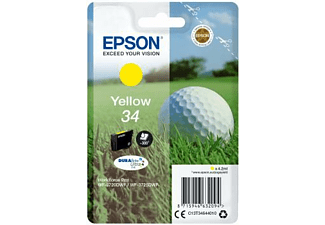 Epson Singlepack Yellow 34 4.2ml Amarillo cartucho de tinta
