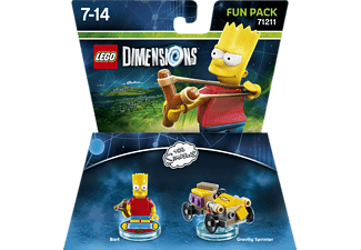 LEGO DIMENSIONS Lego Dimensions Fun Pack The Simpsons Bart Smarttoys