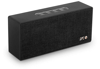 Altavoz inalámbrico - SPC Bang Speaker, Bluetooth, 1500 mAh, 8W, Negro