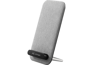 XLAYER Wireless Charger Desktop Induktive Ladestation, Grau