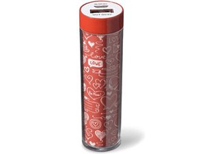 Powerbank - Cellularline 8018080282898, 2200mAh, Rojo y Blanco