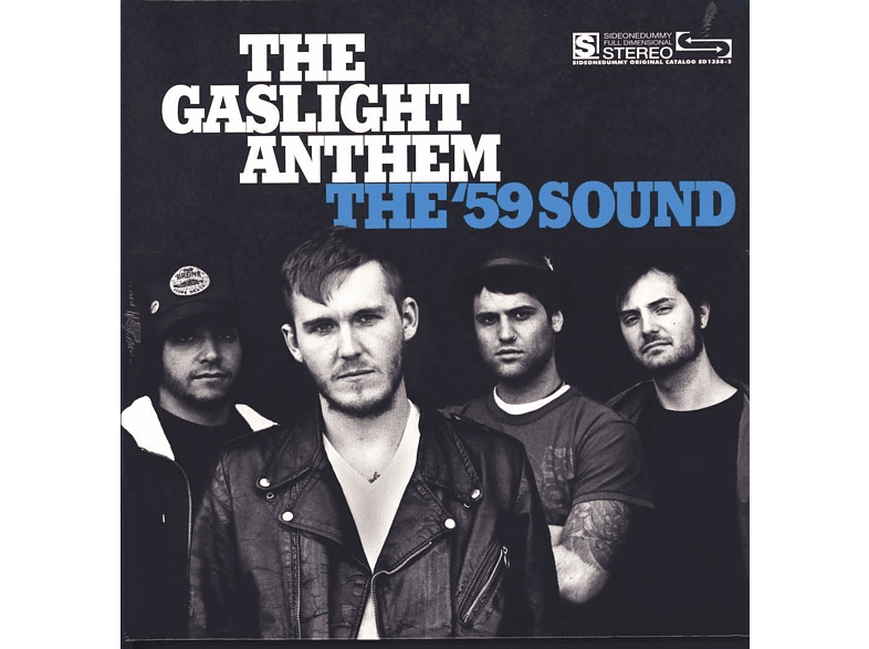The Gaslight Anthem - The '59 Sound (Transparent W/Black Streaks) [Vinyl]