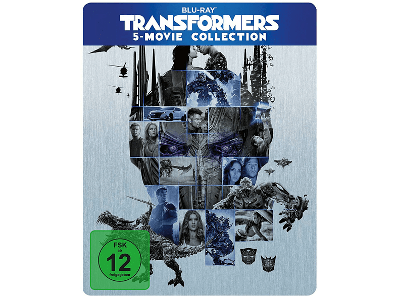 Transformers: 5 Movie Collection [Blu-ray]