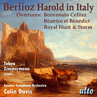 London Symphony Orchestra, Zimmermann Tabea - Harold in Italy op.16 & Overtures [CD]