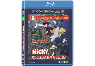 Nicky, La Aprendiz de Bruja - Bluray + Dvd