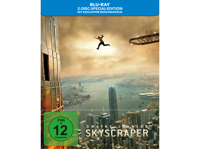 Skyscraper (Limited SteelBook®) [Blu-ray]