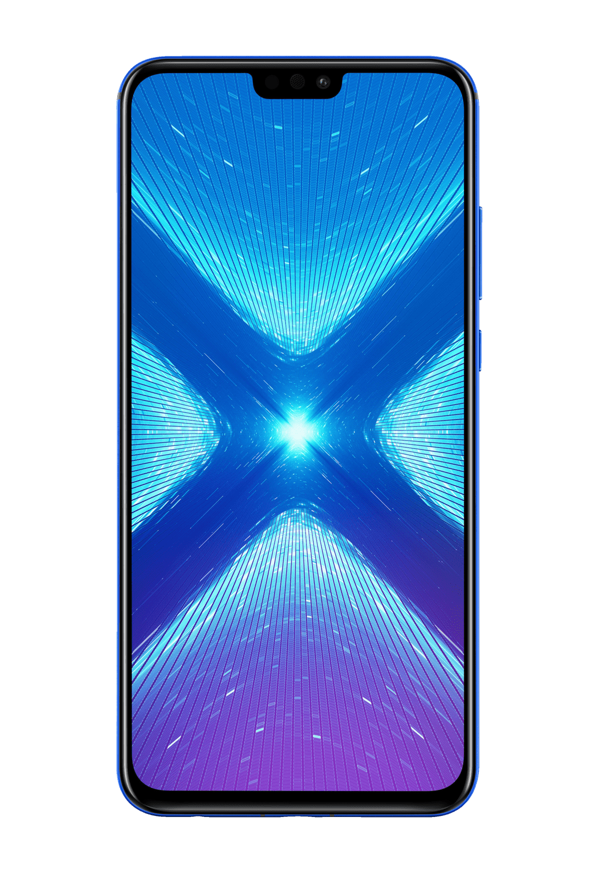 HONOR 8X Smartphone - 128 GB Blau