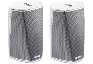Altavoces - Denon Heos 1 HSII, WiFi, Bluetooth, USB, Blanco