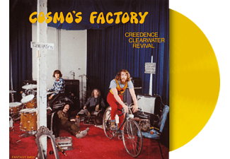 Creedence Clearwater Revival - Cosmo's Factory (Yellow Vinyl) - (Vinyl)