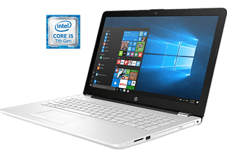 "HP Portátil - HP 15-bs526ns, 15.6"" HD, Intel® Core i5-7200U, 4 GB RAM, 1 TB HDD, Windows 10, Blanco"