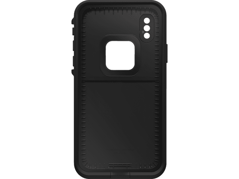 LIFEPROOF Fre , Backcover, Apple, iPhone Xs, Schwarz