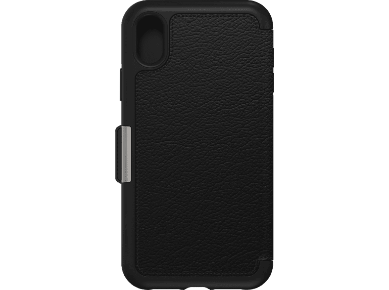 OTTERBOX Strada , Bookcover, Apple, iPhone Xr, Echtleder, Schwarz