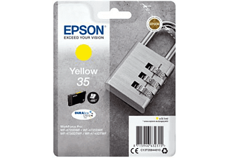 Cartucho de tinta - Epson Singlepack Yellow 35, DURABrite Ultra Ink, 9.1ml, amarillo