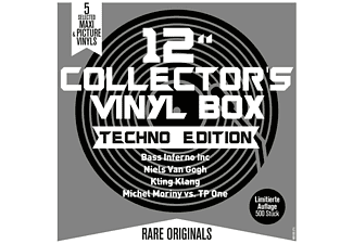 "VARIOUS - 12"" Collector s Vinyl Box-Techno Edition - (Vinyl)"